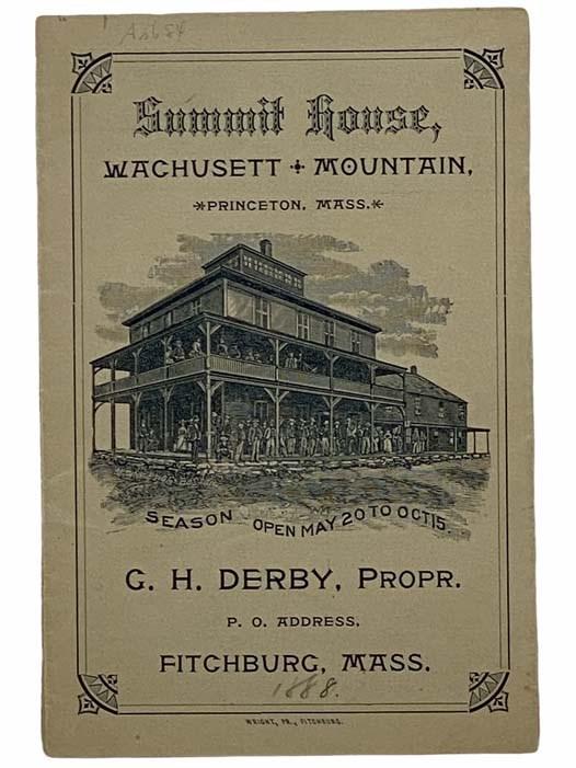 Image for Summit House, Wachusett Mountain, Princeton, Mass.