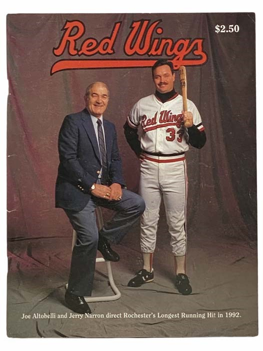 Image for Red Wings Yearbook '92 (Rochester Red Wings)