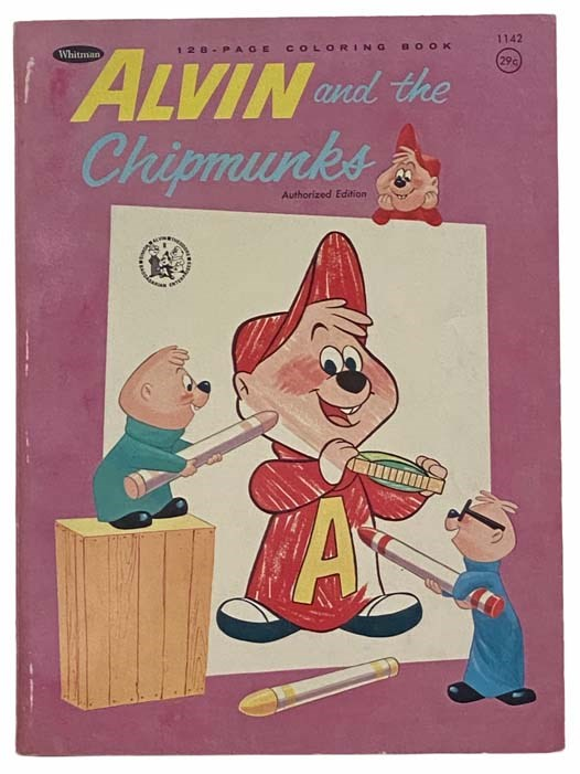 Image for Alvin and the Chipmunks Coloring Book (Authorized Edition)