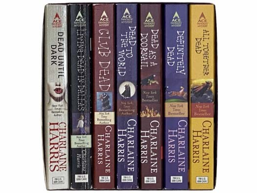 Image for The Sookie Stackhouse Novels Seven Volume Boxed Set: Dead Until Dark; Living Dead in Dallas; Club Dead; Dead to the World; Dead as a Doornail; Definitely Dead; All Together Dead