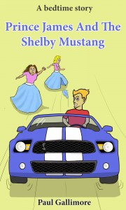 Prince James And The Shelby Mustang by Paul Gallimore