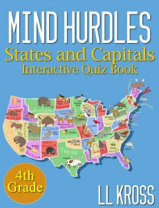 Mind Hurdles: Having Fun with States & Capitals in the United States (Interactive Quiz Book) by Lynn West @KindleKidsBks