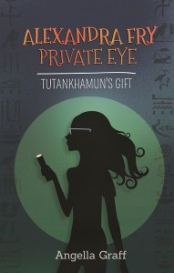 Alexandra Fry, Private Eye: Tutankhamun's Gift by Angella Graff @pantsarefancy
