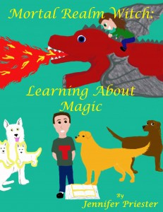 FEATURED BOOK: Mortal Realm Witch: Learning About Magic by Jennifer Priester