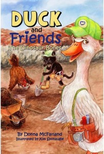 Duck and Friends: The Dinosaur Bones by Donna McFarland