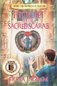 FEATURED BOOK: The Secret of the Sacred Scarab by Fiona Ingram