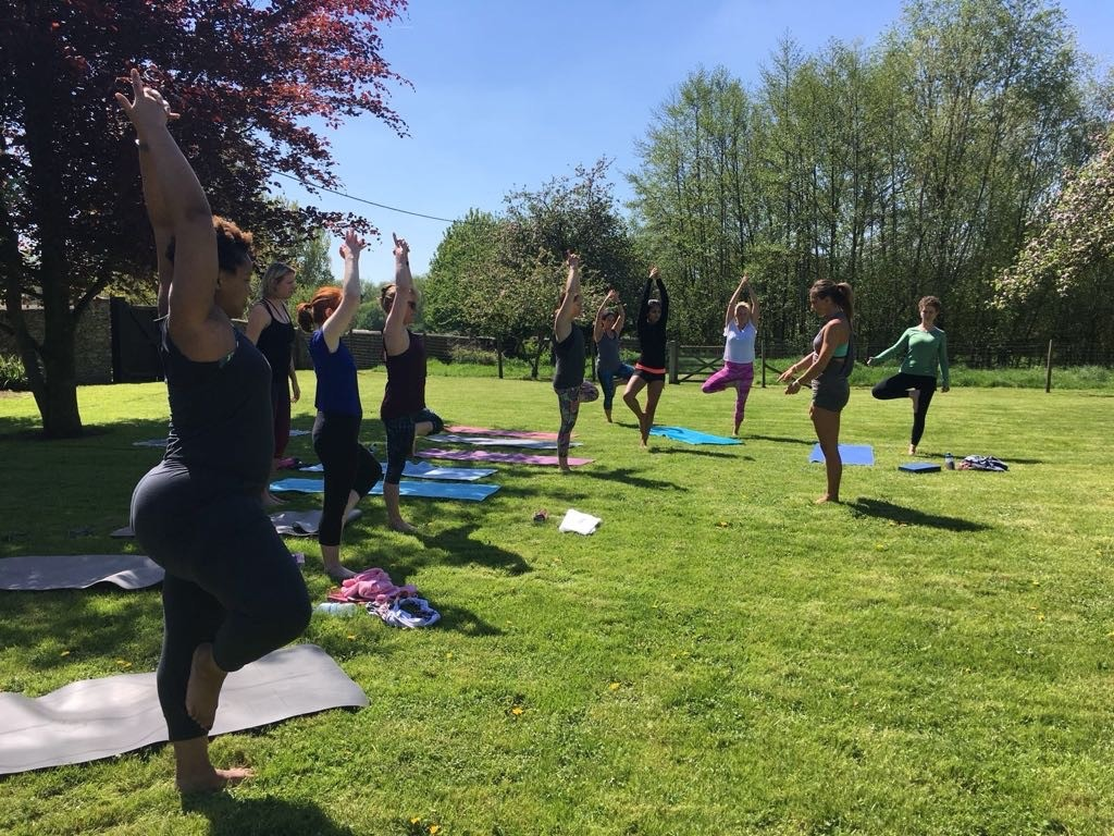 Summer Yoga Wellness Retreat Oxfordshire