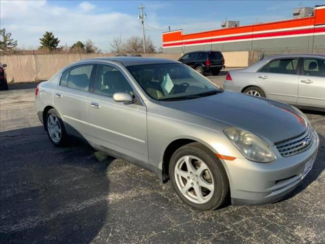 2004 INFINITI G  for sale at Madison Motors