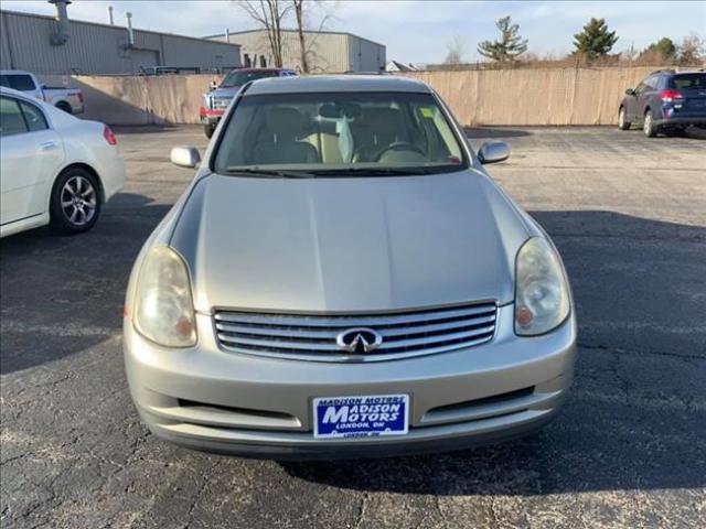 2004 INFINITI G  for sale at Madison Motors