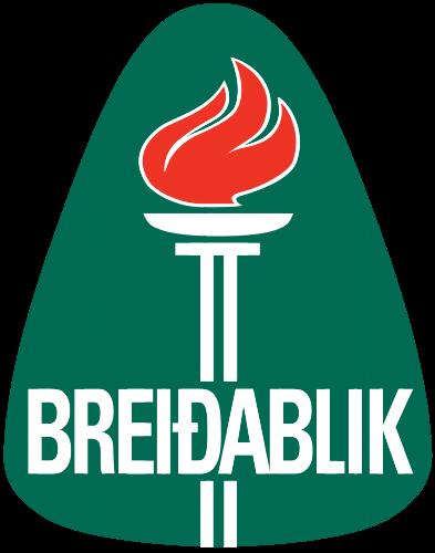Breidablik W logo