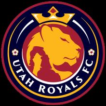 Utah Royals W logo