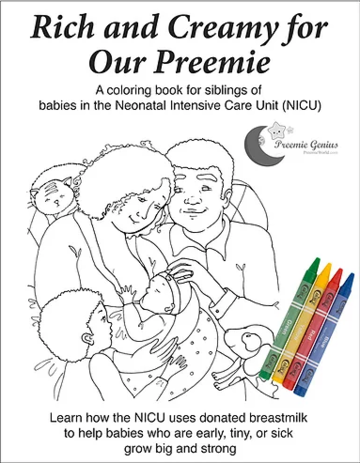Rich and Creamy for Our Preemie