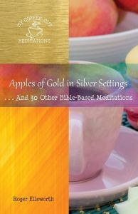 Apples of Gold in Silver Settings