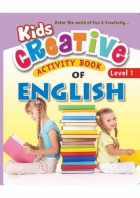 Kids Creative Activity Book of English( 4 level series )