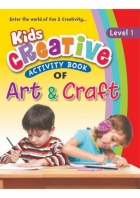 Kids Creative Activity Book of Art and Craft ( 4 level series )