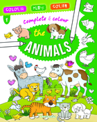 Complete and Colour - The Animals