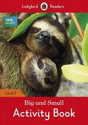 BBC Earth: Big and Small Activity Book