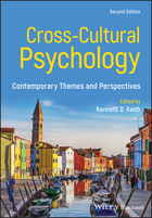 Cross-Cultural Psychology - Contemporary Themesand Perspectives, 2nd Edition