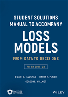 Student Solutions Manual to Accompany Loss Models