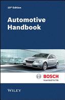 Automotive Handbook 10e