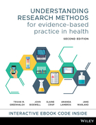 Understanding Research Methods for Evidence-BasedPractice in Health 2E Print and Interactive E-Text