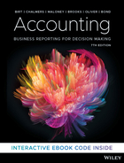 Accounting: Business Reporting for Decision Making 7e Print and Interactive E-Text