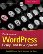 Professional WordPress: Design and Development 3e