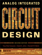 Analog Integrated Circuit Design Second Edition