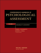 Comprehensive Handbook of Psychological Assessment Volume 2: Personality Assessment