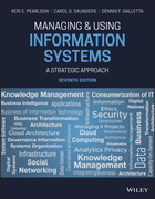 Managing & Using Information Systems: A StrategicApproach 7e