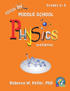Focus On Middle School Physics Student Textbook—3rd Edition (hardcover)