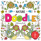 Doodle Colouring Nature 11x11 64pp