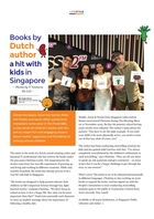 Books by Dutch author a hit with kids in Singapore