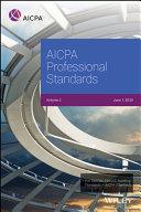 AICPA Professional Standards, 2020, Volume 2
