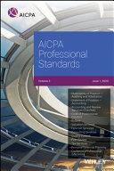 AICPA Professional Standards, 2020, Volume 3