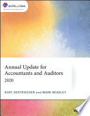 Annual Update for Accountants andn  Auditors: 2020