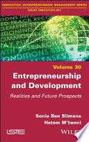 Entrepreneurship and Development - Realities andProspects