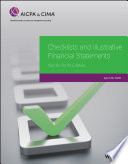 Checklists and Illustrative Financial Statements:Not-for-Profit Entities 2020