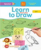 Learn to Drow Step by Step : Animals Level 1