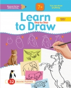 Learn to Drow Step by Step : Animals Level 2
