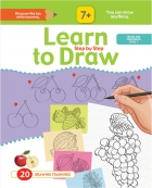 Learn to Drow Step by Step : Fruits & Vegetables Level 1