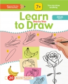 Learn to Drow Step by Step : Fruits & Vegetables Level 2