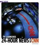 TV Launches 24-Hour News with CNN