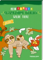 My Colourful Glittering Colouring Block. Wild Animals