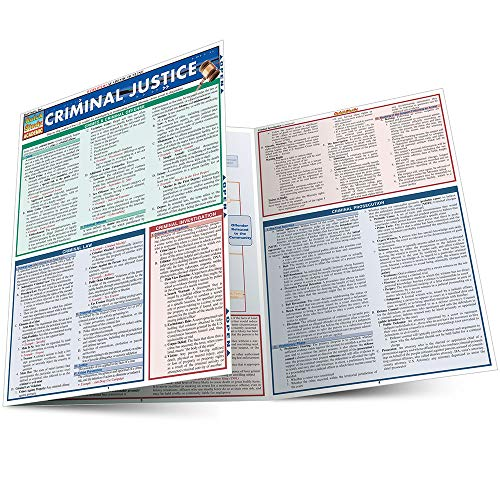 CRIMINAL JUSTICE LAMINATED STUDY GUIDE