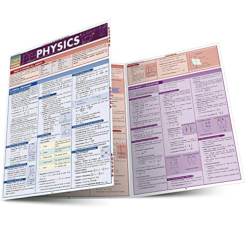 PHYSICS LAMINATED STUDY GUIDE