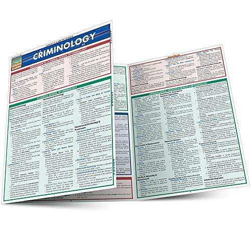 CRIMINOLOGY LAMINATED STUDY GUIDE