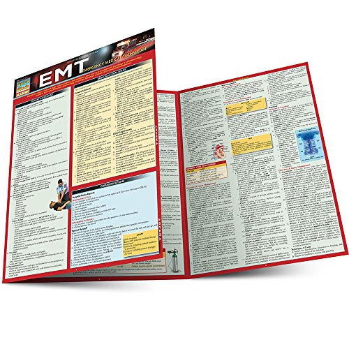 Cover image for EMT- EMERGENCY MEDICAL TECHNICIAN LAMINATED STUDY GUIDE