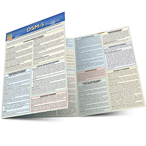 DSM-5 OVERVIEW LAMINATED STUDY GUIDE