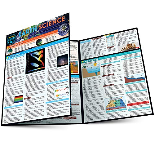 EARTH SCIENCE LAMINATED STUDY GUIDE (UPDATED)